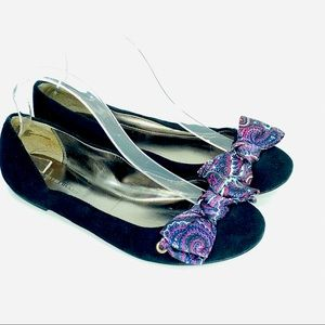 Tommy Hilfiger flats loafers slip on bows